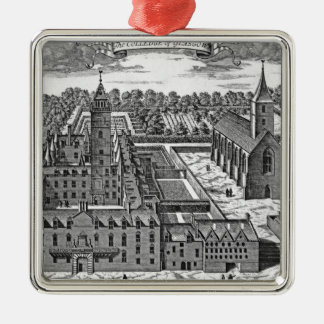 The College of Glasgow, from 'Theatrum Christmas Ornament