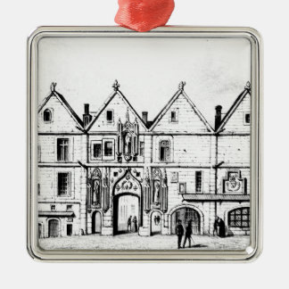 The College of Navarre in 1440 Christmas Ornament