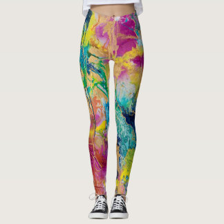 """The Color Of Joy"" Leggings by MaryLea Harris"