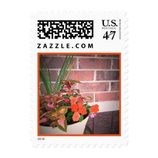 The Color of Summer Original Art Postage Stamp