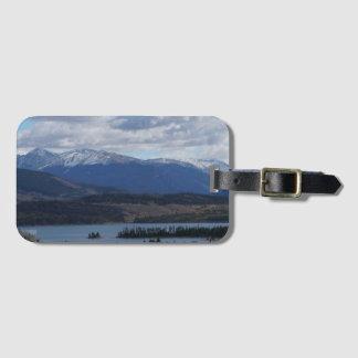 The Colorado Skies Luggage Tag