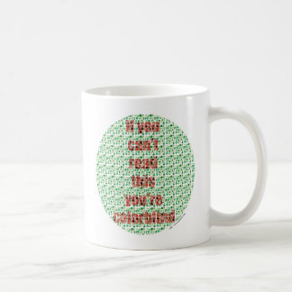 The Colorblind test Basic White Mug