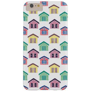 The Colorful Beach Houses Barely There iPhone 6 Plus Case