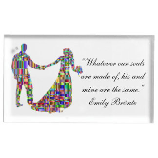 The Colorful Couple Table Card Holders