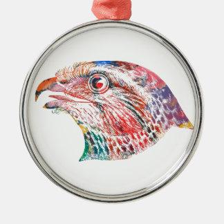 The Colorful Eagle Christmas Ornament