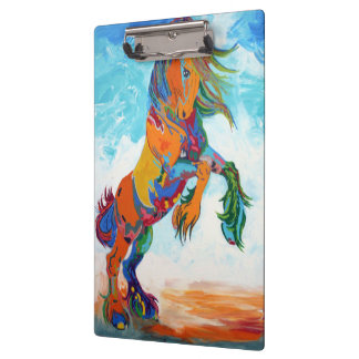 The Colorful Horse Clipboard