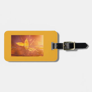 The colors of autumn luggage tag