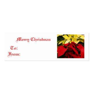 The Colors of Christmas Pack Of Skinny Business Cards