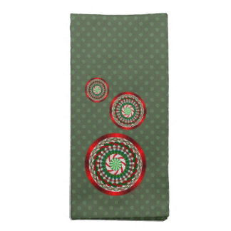 The Colors of Christmas Napkin