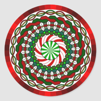 The Colors of Christmas Sticker