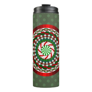 The Colors of Christmas Thermal Tumbler