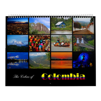 The Colors of Colombia Calendar 2013