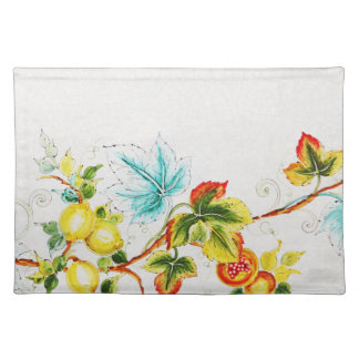 """the colors of nature"" American MoJo Placemat"
