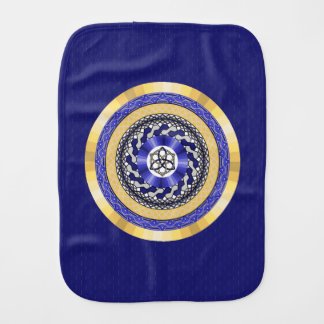 The Colors of New Years Burp Cloth