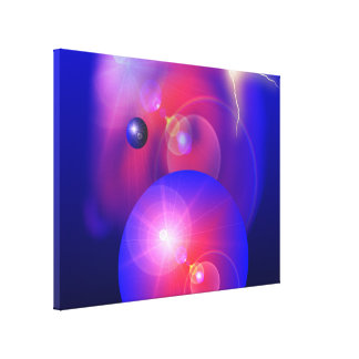 The Colors of Space - Wrapped Canvas Stretched Canvas Prints