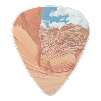 The Colors of the Wave Acetal Guitar Pick