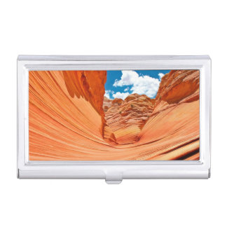 The Colors of the Wave Business Card Holder