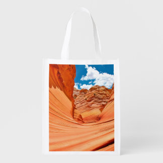 The Colors of the Wave Reusable Grocery Bag