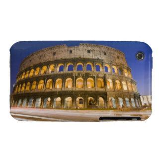 the Colosseum ampitheatre illuminated at night 2 iPhone 3 Case-Mate Cases