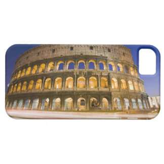 the Colosseum ampitheatre illuminated at night 2 iPhone 5 Covers