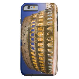 the Colosseum ampitheatre illuminated at night 2 Tough iPhone 6 Case