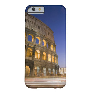 the Colosseum ampitheatre illuminated at night Barely There iPhone 6 Case