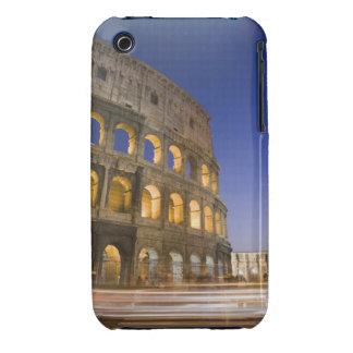 the Colosseum ampitheatre illuminated at night iPhone 3 Case