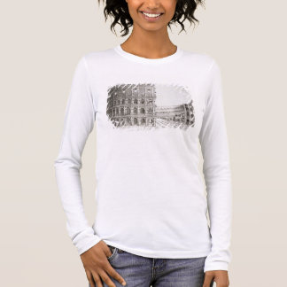 The Colosseum, built in AD 80 (engraving) Long Sleeve T-Shirt