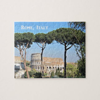The Colosseum in Rome, Italy Jigsaw Puzzle