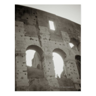 The colosseum in Rome, Italy Postcard