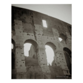 The colosseum in Rome, Italy Poster