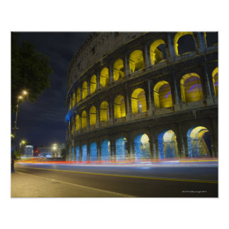 The Colosseum in Rome Poster