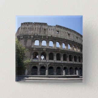 The Colosseum is situated in Rome, Italy. Its an 2 15 Cm Square Badge