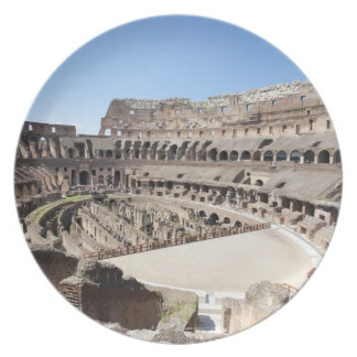 The Colosseum is situated in Rome, Italy. Its an 3 Plate