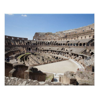 The Colosseum is situated in Rome, Italy. Its an 3 Poster