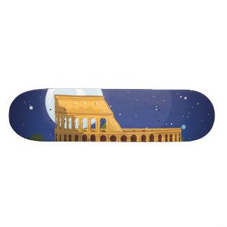 The Colosseum Of Rome 20.6 Cm Skateboard Deck