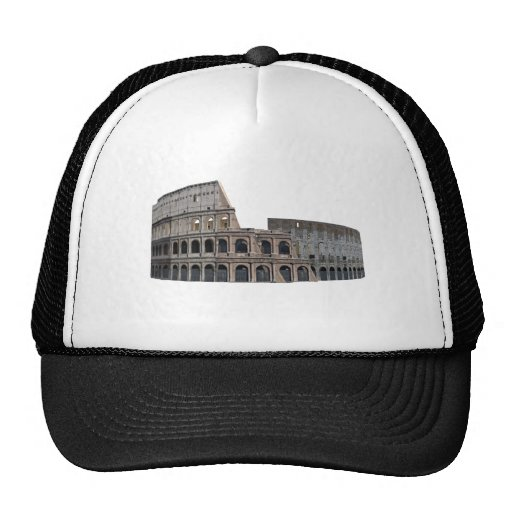 The Colosseum of Rome: 3D Model: Hats