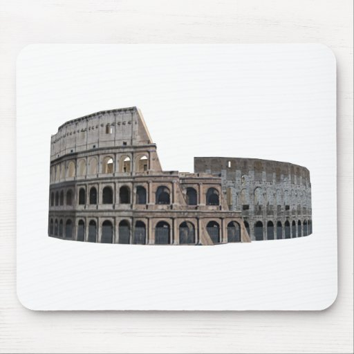 The Colosseum of Rome: 3D Model: Mouse Pads