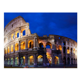 The Colosseum or Coliseum In Rome Postcard