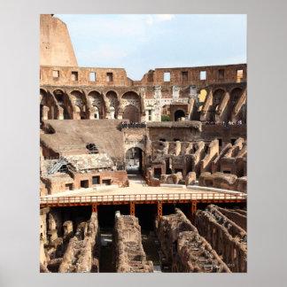 The Colosseum or Roman Coliseum, originally Poster
