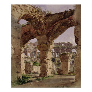 The Colosseum, Rome, 1835 Poster