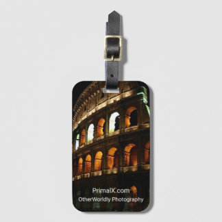 The Colosseum, Rome Italy Bag Tag