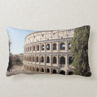 The Colosseum (Rome) Lumbar Pillow