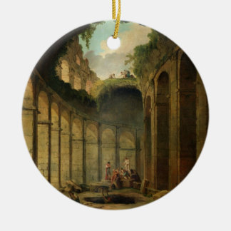 The Colosseum, Rome (oil on canvas) Christmas Ornament