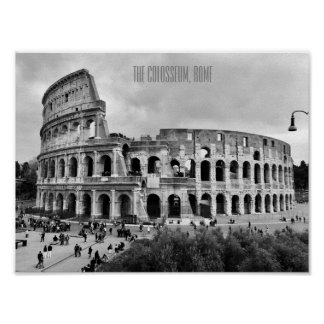 The Colosseum Rome Poster