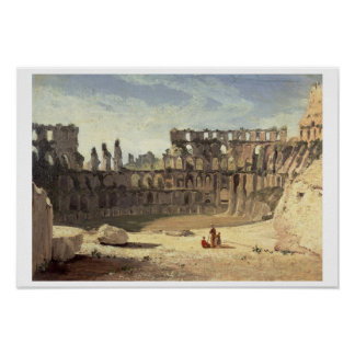 The Colosseum, Rome Poster