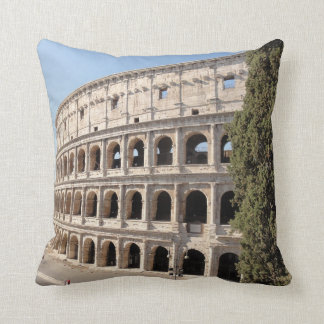 The Colosseum (Rome) Throw Pillow