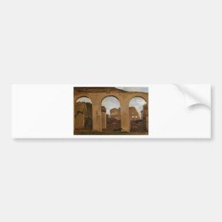 The Colosseum, seen through the Arcades Bumper Sticker