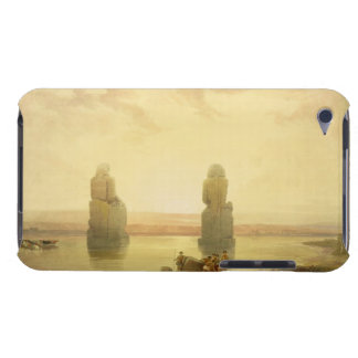 The Colossi of Memnon, at Thebes, during the Inund Barely There iPod Cases