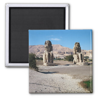 The Colossi of Memnon, statues of Amenhotep Magnet